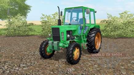 MTZ-82 Belarús color verde para Farming Simulator 2017