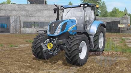 New Holland T6.145〡T6.165〡T6.175 para Farming Simulator 2017