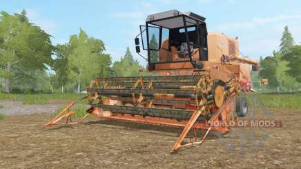 Bizon Super Z056 tan hide para Farming Simulator 2017