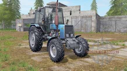 MTZ-Belarús 1025 azul para Farming Simulator 2017