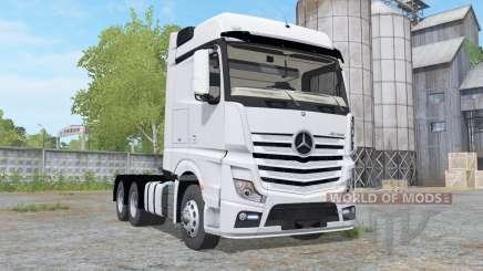 Mercedes-Benz Actros BigSpace (MP4) para Farming Simulator 2017