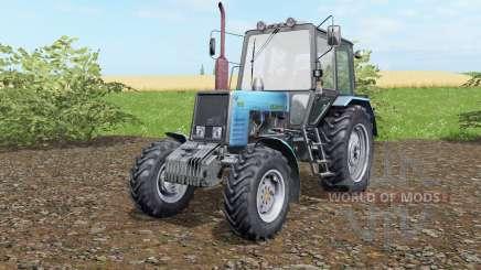 MTZ-Belarús 1025 azul okra para Farming Simulator 2017