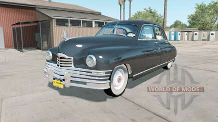 Packard Standard Eight Touring Sedan 1948 v1.1 para American Truck Simulator