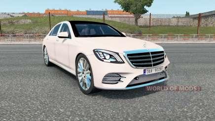 Mercedes-Benz S 400 d Lang AMG Line (V222) 2017 para Euro Truck Simulator 2