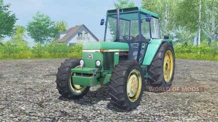 John Deere 3030 crayola green para Farming Simulator 2013