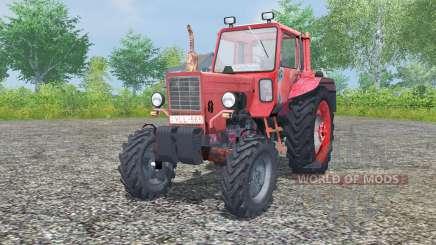 MTZ-80, Belarús es moderadamente color rojo para Farming Simulator 2013