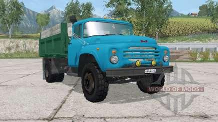 ZIL-MMZ-554 de color azul para Farming Simulator 2015