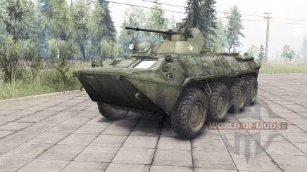 El BTR-82A v1.3 para Spin Tires