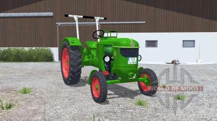 Deutz D 40 islámica greeɳ para Farming Simulator 2013