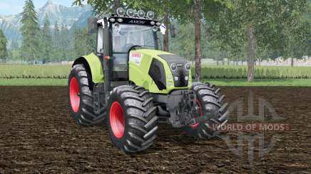 Claas Axion 830 wild willow para Farming Simulator 2015