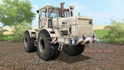 Kirovets K-701 polvo y las huellas de las ruedas para Farming Simulator 2017