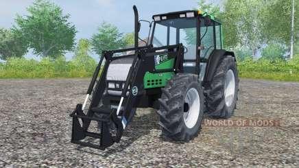 Valtra Valmet 6800 frente loadᶒr para Farming Simulator 2013
