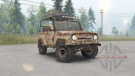 UAZ-469 S. T. A. L. K. E. R. para Spin Tires
