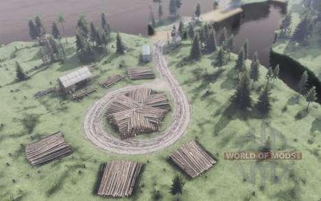 Las dos orillas de la aldea para Spin Tires