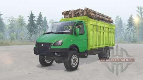 GAZ-33104 Valdai para Spin Tires
