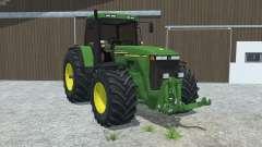 John Deere 8110 left door opens para Farming Simulator 2013