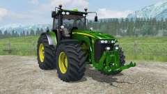 John Deere 8530 MoreRealistic para Farming Simulator 2013