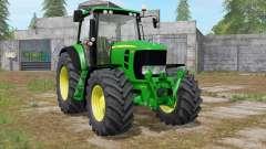 John Deere 7430 Premium animated display para Farming Simulator 2017