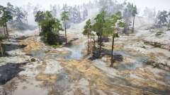 Gravel Coastline para MudRunner