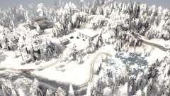 Kamyanka invierno para MudRunner