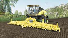 New Holland FR780 use spherical trailers para Farming Simulator 2017
