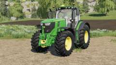John Deere 6R-series with SeatCam para Farming Simulator 2017
