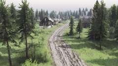Las dos orillas de la aldea v3.0 para Spin Tires