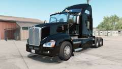 Kenworth T660 2009 rich black para American Truck Simulator