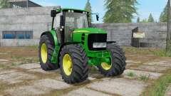 John Deere 7430 Premium with power selection para Farming Simulator 2017