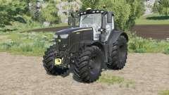 John Deere 6R-serie Negra Editioꞑ para Farming Simulator 2017
