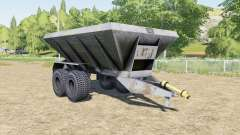 HLM-8B azul pizarra para Farming Simulator 2017
