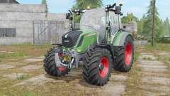 Fendt 310&313 Vario with beacon lights para Farming Simulator 2017