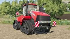 Case IH Steiger Quadtrac license plate illuminat para Farming Simulator 2017