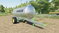 Joskin AquaTrans 7300 S milk para Farming Simulator 2017