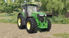 John Deere 7R-series with SeatCam para Farming Simulator 2017