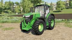 John Deere 7R-series added new front rims para Farming Simulator 2017