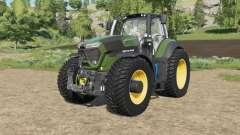 Deutz-Fahr 9-series añadido tireʂ para Farming Simulator 2017