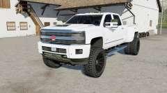 Chevrolet Silverado 3500 HD High Country 2015 para Farming Simulator 2017