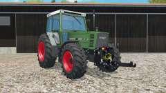 Fendt Farmer 310 LSA Turbomatik dark green para Farming Simulator 2015