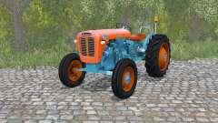 Lamborghini 1R burning orange para Farming Simulator 2015