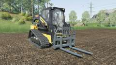 New Holland C232 with attachment weight para Farming Simulator 2017
