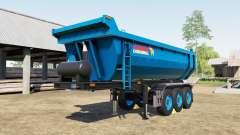 Schmitz Cargobull S.KI rich electric blue para Farming Simulator 2017