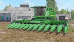 John Deere S690i real textures para Farming Simulator 2017