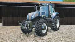 New Holland T8.435 Azul Poweɽ para Farming Simulator 2015