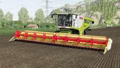 Claas Lexion 780 and Vario 1200 para Farming Simulator 2017