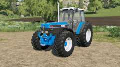 Ford 40-series added Michelin&Mitas tires para Farming Simulator 2017