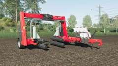Kuhn SW 4014 increased wrapping speed para Farming Simulator 2017