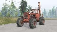 DT-75 rueda para Spin Tires