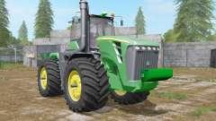 John Deere 9630 wheel configurations para Farming Simulator 2017