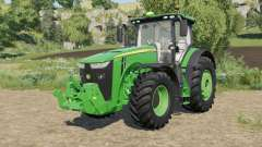 John Deere 8R-series real sound para Farming Simulator 2017